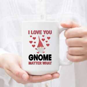 Valentine/'s Day Gnome Mug Cute Valentine/'s Day Gift For Her Or Him Mugs Can Be