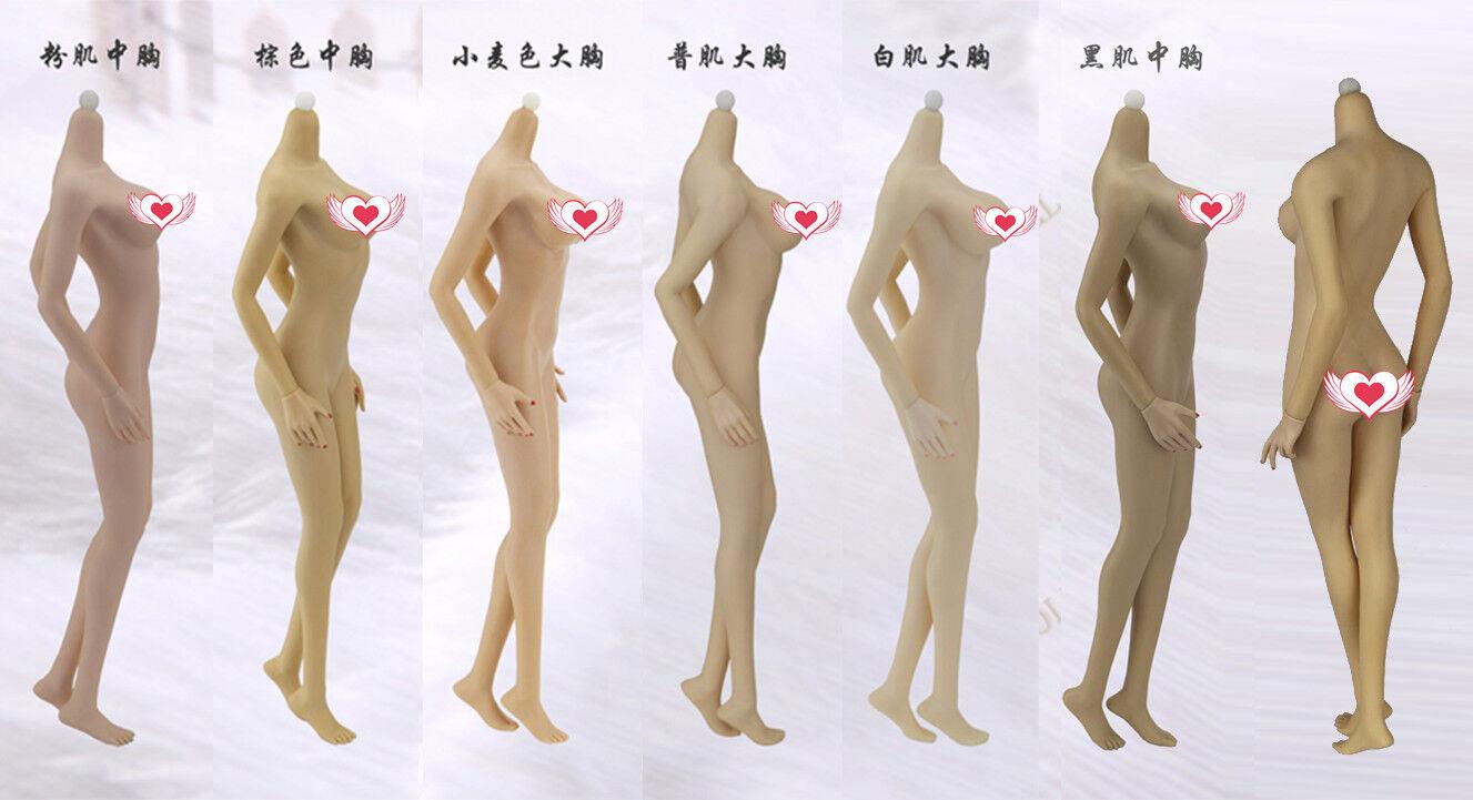 1 6 JIAOU  bambola Super Flexible Middle gree autoautobust Female corpo Non Disuomotle Foot  nuovo stile