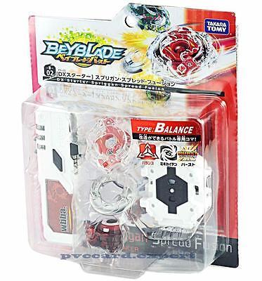 Takara Tomy Beyblade BURST B-02 DX Starter Spriggan Spread Fusion