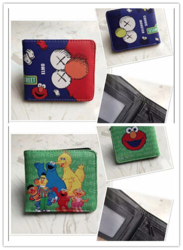 Sesame Street Logo Wallet New Money Cards Purse unisex Colour Printing Wallet