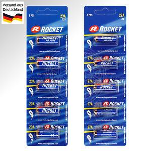 5x-Rocket-Alkaline-Spezial-Batterie-12V-Battery-Funk-Klingel-Alarm-Cell-12-Volt