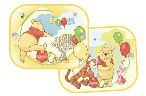 wpsaa018 Winnie the Pooh side car sunshades twin pack