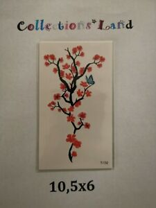 Tatouages-Temporaire-Temporary-Tattoo-Branches-Feuilles-T-132