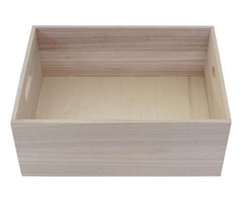 Dekokiste Aufbewahrung Holzkiste Shabby-Look Vintage Holzbox HWC-C20