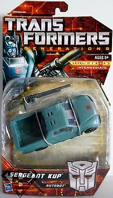 "SERGEANT KUP Transformers Generations 5"" inch Deluxe Class Autobot Figure 2011"