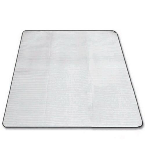Waterproof Thermal Foil Foam Back Camping Picnic Blanket Sleeping Mat 200x150 cm