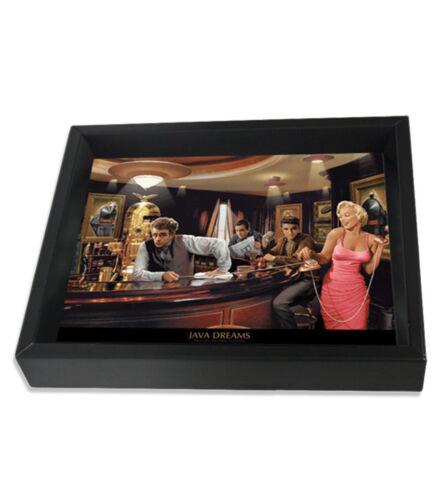 JAVA DREAMS-CHRIS CONSANI 8x10 3D SHADOWBOX ELVIS MARILYN MONROE JAMES DEAN ICON
