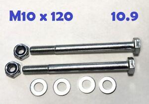 DIN 931 10.9 M10 x 130 2 Stk Sechskantschraube mit Schaft