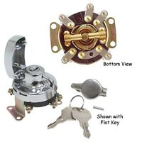 Mechanical Ignition Switch Harley Fat Bob Dash Big Twin Rep 71501-73t 5 Pole