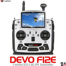"""Walkera DEVO F12E 32 Channels 2.4GHz Real-time FPV Transmitter  5"""" LCD Screen"""