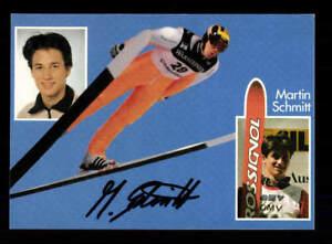 Autogramme & Autographen Martin Schmitt Skispringen Autogrammkarte