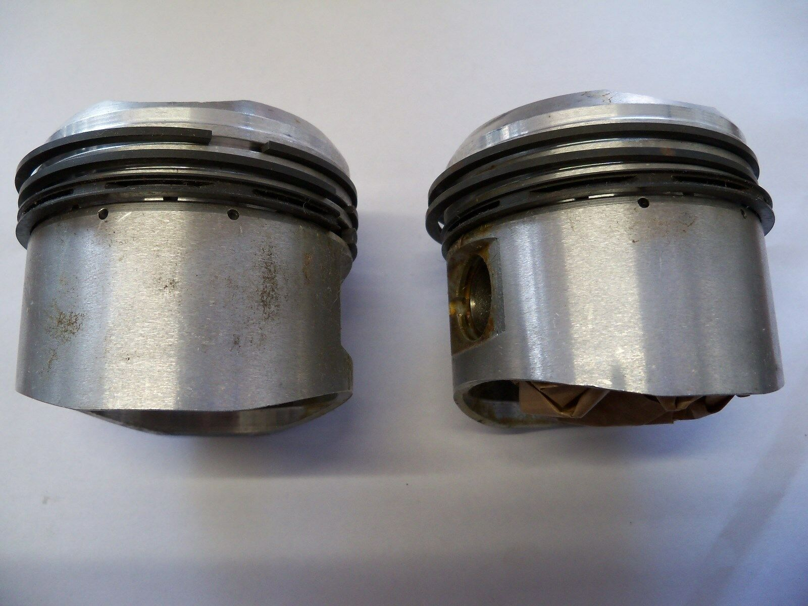 20 oversize HEPOLITE PISTONS gudgeon pins circlips rings NEW! 2 BSA A10 1950-62