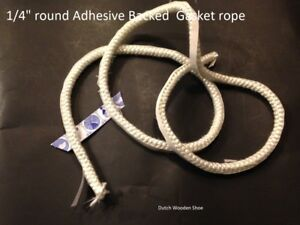 1 4 Quot Round Adhesive Backed 20 Feet Gasket Rope Tape Wood