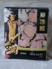 2 Boxes Landmann Lavasteine Lava Rock For Gas Barbecue BBQ Camping 3KG 3 Kg//Box