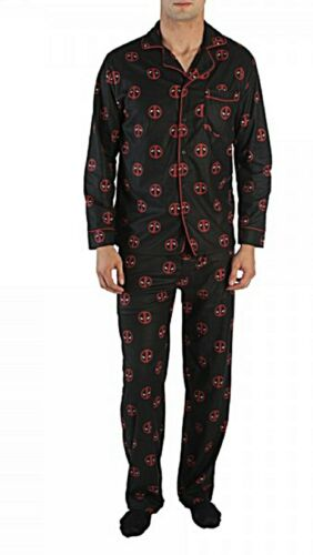 Deadpool All Over Print Polyester Unisex Pajama Set