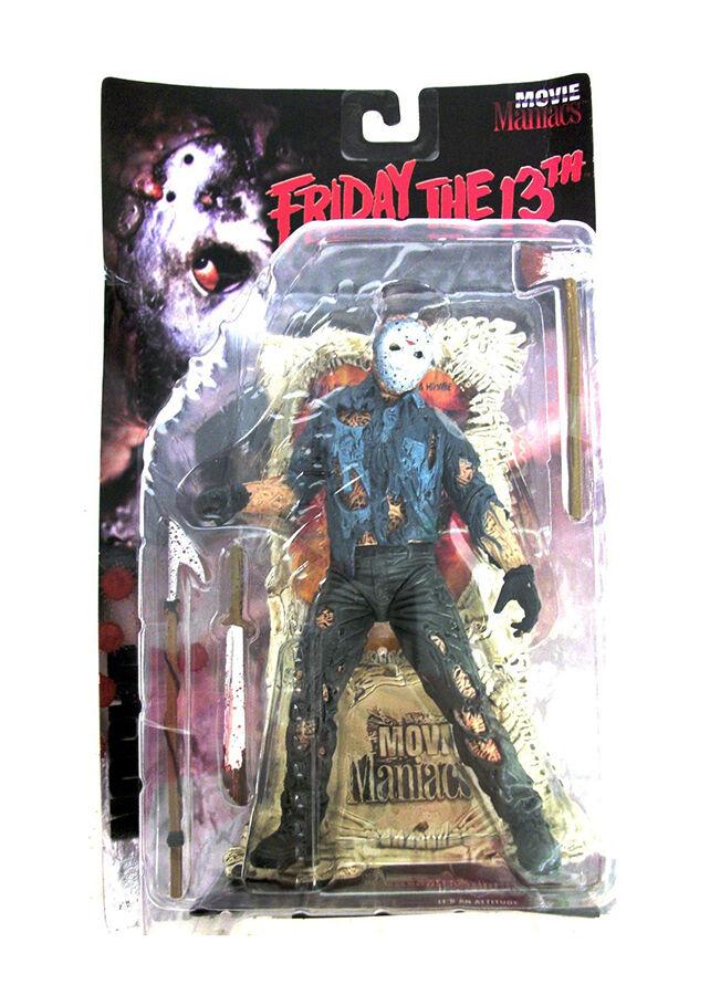 McFarlane Toys Jason Voorhees Friday The 13th Movie Maniacs Figura de Acción C52