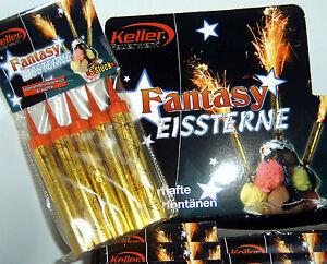5-100-Fantasy-Eissterne-Eisfontaene-Zaubersterne-Torten-Fontaene-Party-Feuerwerk