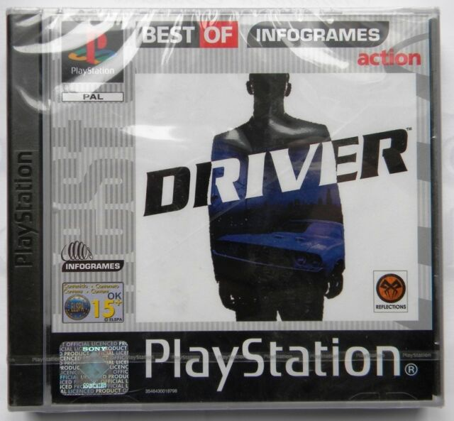 DRIVER PS1 PLAYSTATION ONE  PAL ITA SEALED