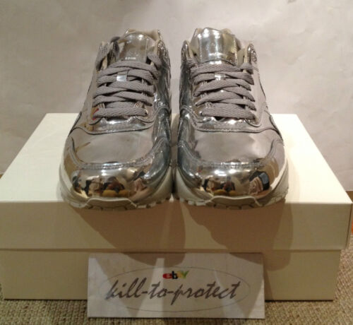 1 090 8 616170 Us Nike Silver Metal Tz Liquid 9 Metallico Air Wmns 6 10 Uk5 Max 7 wfxCq1At