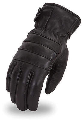 Men/'s Fleece Lined Driver Style Leather Glove w// Cinch Wrist  SH234 Everyday Use