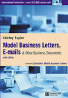Model Business Letters, E-mails and Other Business Documents by Shirley Taylor (Paperback, 2003)