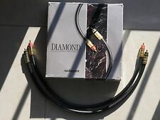 Audioquest Audiotruth DIAMOND X2 FPS Silver Welded RCA Very good !!