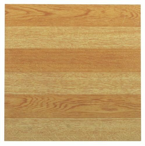 "Vinyl Tiles Flooring Self Adhesive Peel And Stick Wood 20 Pack 12 /"" Like Real"