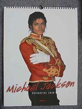 ★ MICHAEL JACKSON CALENDRIER 2010 (HUGO & CIE) ★ 39cm/29cm A SPIRALE CALENDAR ★