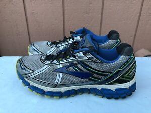 BROOKS-Adrenaline-GTS-15-Grey-Blue-Mesh-Running-Shoes-Men-039-s-Size-US-14B-A2