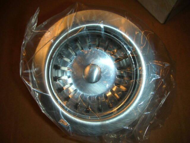 GEBERIT Chicago 152.675.GH.3 SS Kitchen Sink Basket Strainer Satin 3-1/2\