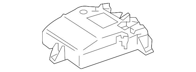 Mercedes Benz Oem Control Module Right 1648209485