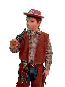 Cowboy Weste Kostum Karneval Kinder Western Ebay