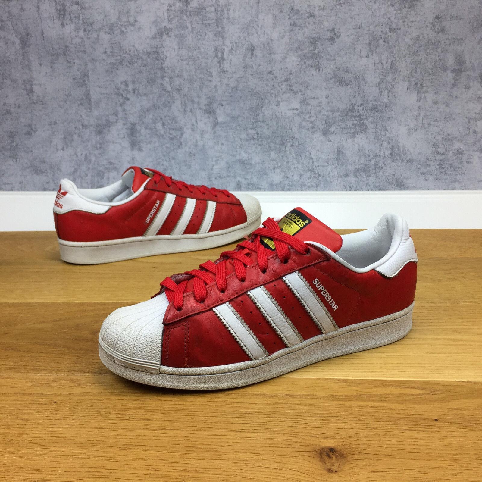Adidas Supestar 80s Animal schuhe Größe 42 (p425-88-1320) s75158 rot Trainer