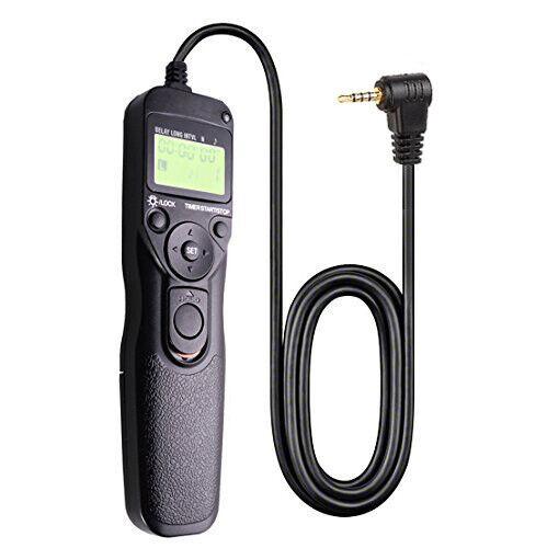 LCD Timer Shutter Release Remote Cord//Panasonic Lumix G9 G7 G85 GH5 FZ300//FZ150