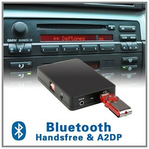 Bluetooth Music Hands Free Mp3 Cd Changer Adapter Bmw E36 E46 Z3 Business Radio Ebay