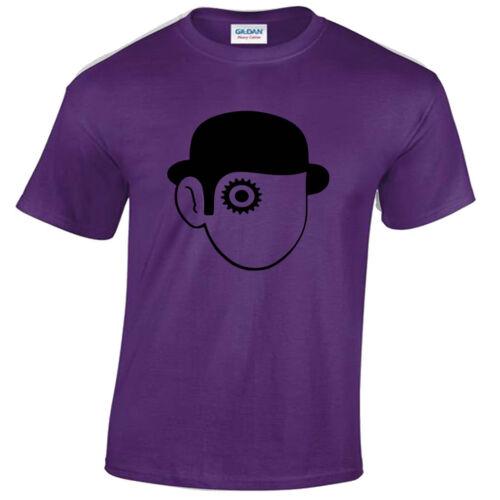 Clockwork Orange Hommes T Shirt Rétro Film Culte T shirts