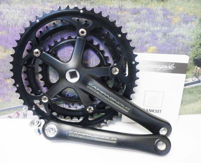 Campagnolo Racing Triple crankset from 2005 175mm 52-42-30 NOS