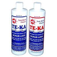 Itw Marine Tex Rm340k Two-part Teak Cleaner 8oz on sale