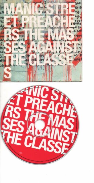 MANIC STREET PREACHERS MASSES AGAINST THE CLASSES EU PROMO CDS IN CARD PS