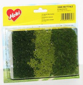 Heki-h0-tt-n-z-1646-Nature-Buissons-20-pieces-NEUF-neuf-dans-sa-boite