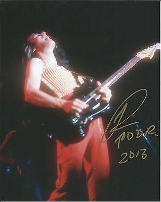 **gfa The Band Utopia *todd Rundgren* Signed 8x10 Photo Ad6 Coa** Music