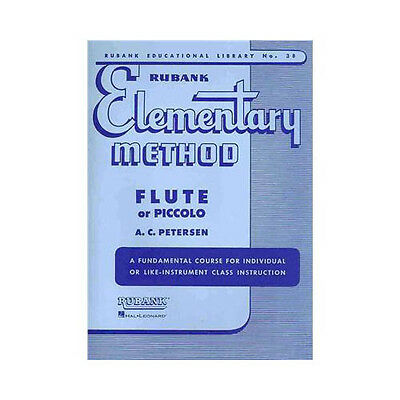 Flute/piccolo Utmost In Convenience Musical Instruments & Gear Hearty Hal Leonard 04470040 Rubank Elementary Method