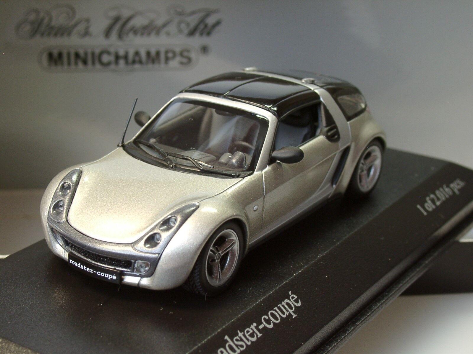 MINICHAMPS SMART ROADSTER Coupé, Champagne Remix - 400 032121 - 1 43