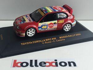 Ixo presse  Rallye  1//43 Toyota Corolla wrc Neuf en boite