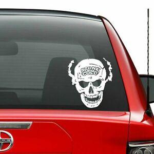 Death Proof Skull Hood Decal