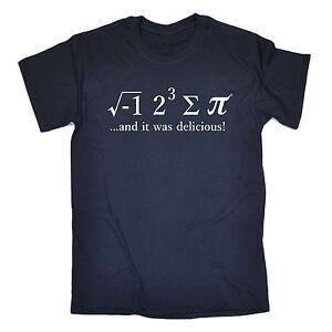 Funny T Shirts Novelty I Ate Some Pi tshirt Maths 8 Sum Pie birthday shirt tee