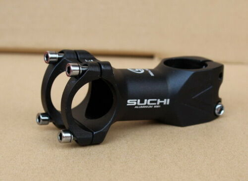 Aluminum MTB Road FR Bike 31.8*80mm 7 degree handlebar stems Bicycle Stem Black