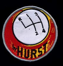 Hurst Patch Floor Shifter Hot Rod Muscle Car Mechanic