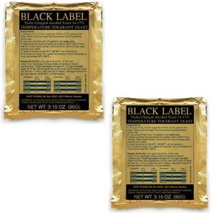 2-Prestige-Black-Label-14-17-Turbohefe-Gaerhefe-Brennhefe-Trockenhefe-Alkohol