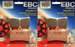 NEW-EBC-HH-Front-Brake-Pads-Yamaha-R6-R1-FZ1-FZ8-2-Sets-FA380HH-FREE-SHIP